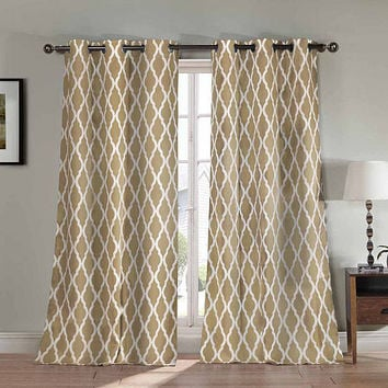 Nataly 2-Pack Grommet-Top Curtain Panels - JCPenney