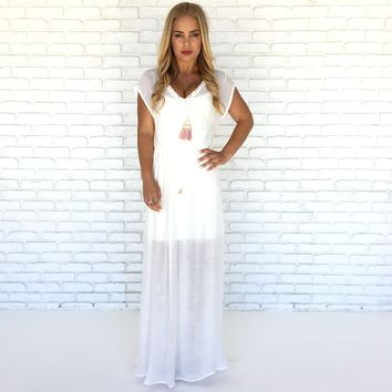 Myrtle Beach Cover Up Maxi Dress