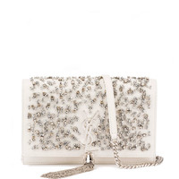 Saint Laurent Kate Crystal-Beaded Chain Shoulder Bag