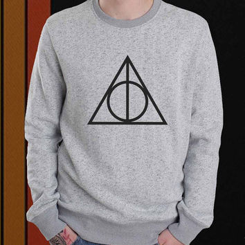 Deathly Hallows sweater Sweatshirt Crewneck Men or Women Unisex Size
