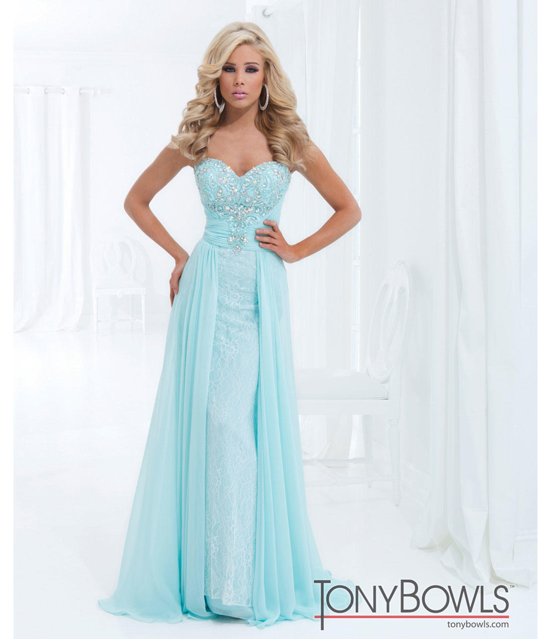 (PRE-ORDER) Tony Bowls 2014 Prom Dresses From Unique Vintage