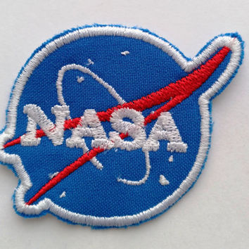 Patch #10. NASA Patch. Tumblr patches, Patches, Appliques, Embroidered Iron On Patch, Iron on Applique, Sewing Appliques