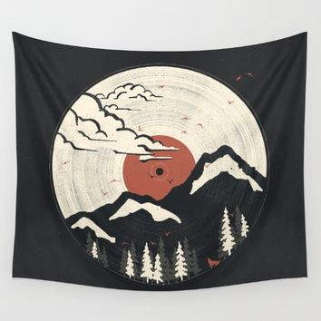 MTN LP... Wall Tapestry by NDTank