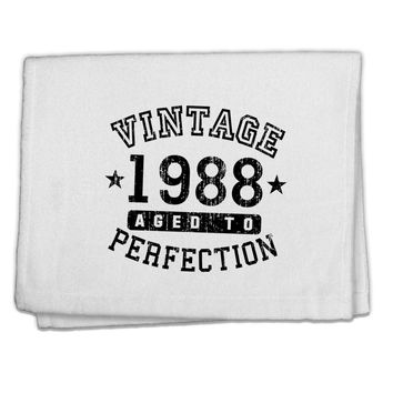 "30th Birthday Vintage Birth Year 1988 11""x18"" Dish Fingertip Towel by TooLoud"