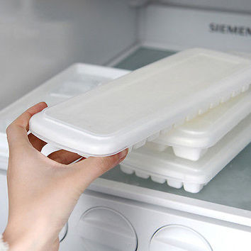 healthy ice maker DIY Freeze Mold with cover ice making tray with  Ice HU