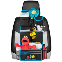 Backseat Car Organizer   Kids Toy Car Storage   Travel Accessories for Baby   Child Car Seat Protector   Great as Baby Shower Gift   Detachable Wallet - Multiple Pockets - Universal Fit