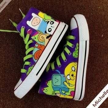 customize purple converse custom hand painted shoes high top converse shoes custom co