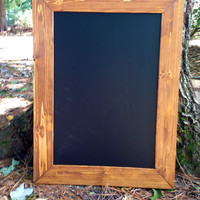 Large Rustic Chalkboard 33x24, Rustic Wedding Chalkboard; Framed Chalkboard; Rustic Beach Wedding; Beach Wedding