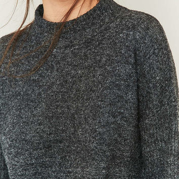 Light Before Dark Regal Mock Neck Jumper - Urban Outfitters