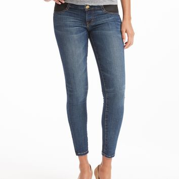 Current/Elliott Stiletto Maternity Jean - Townie
