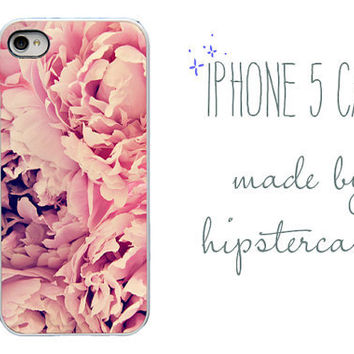 iphone case  Pink Peonies  iPhone 5 caseFloral by HipsterCases