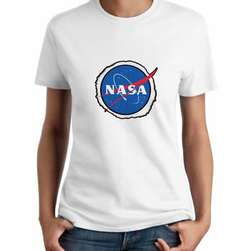 Eclipse Dan Howell Nasa Woman T-Shirt