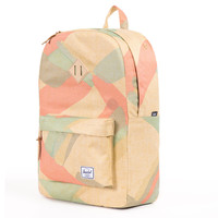Herschel Supply Co.: Heritage Backpack - Natural Portal / Natural Rubber