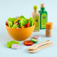 Leafy Keen Salad Set in Kitchen & Play Food | The Land of Nod