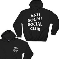 Anti Social Social Club Hoodie - Anti Social Social Club Sweatshirt - Kanye West Hoodi