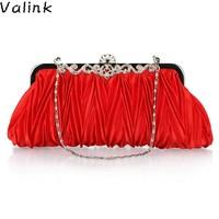 Valink Evening Clutch Bags 2018 Fashion Evening Bag With Chain Shoulder Bag Women's Handbags Wallets Evening Bag For Wedding