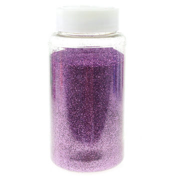 Fine Glitter Arts and Crafts, 1-pound Bulk, Lavender
