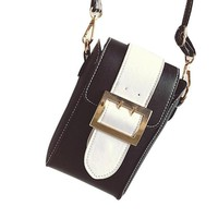 Perfect ID Cell Phone Crossbody Purse  Many Interior Compartments So Everything Has A Place!  Black & White