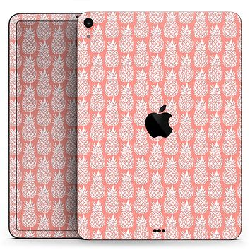 "Tropical Summer Pineapple v2 - Full Body Skin Decal for the Apple iPad Pro 12.9"", 11"", 10.5"", 9.7"", Air or Mini (All Models Available)"