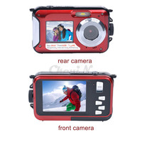 New Fantastic Double Screen 16X Zoom 1920x1080 HD Digital Camera 2.7' TFT Smile Capture Anti-shake Video Camcorder DVR50_940