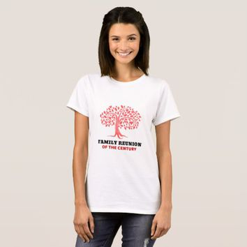 Family Tree Reunion T-Shirt
