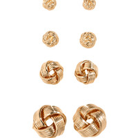 H&M - 4 Pairs Earrings