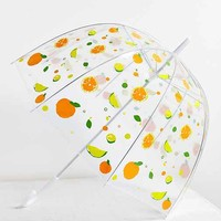 Printed Bubble Umbrella-