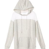 Mesh-inset Hoodie - Super Soft Knits - Victoria's Secret
