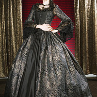 Fantasy Marie Antoinette Gown With Long Train by RomanticThreads