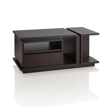 Ballis Modern Coffee Table in Walnut