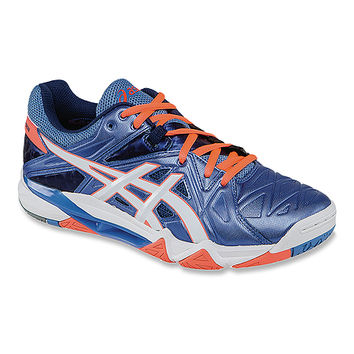 ASICS® GEL-Cyber Sensei™ | Women's - Powder Blue/White/Flash Coral