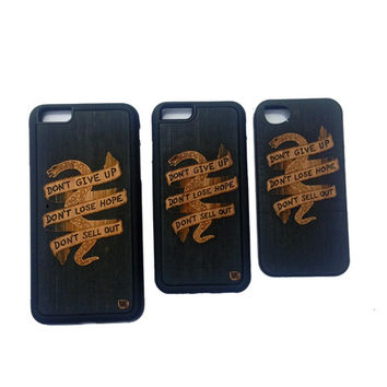DON'T GIVE UP LIMITED iPHONE CASES