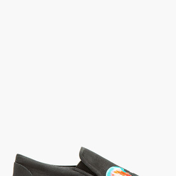 Marcelo Burlon County Of Milan Black And Teal Jellyfish Devendra Sneakers