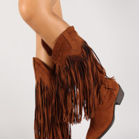 Rodeo Fringe Boots