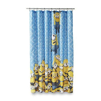 Kids, Children's Fabric Disney, Nickelodeon, Marvel, DC Comics Shower Curtain