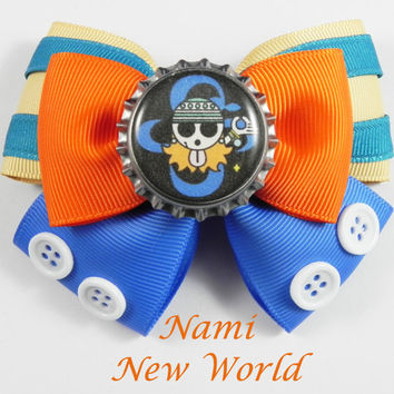 Nami New World Hair Bow (( One Piece ))