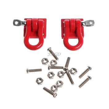 2017 Preety 2Pcs 1/10 Trailer Buckle Hook For RC Crawler D90 SCX-10 Truck For RC Car Parts MAY22_40