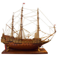 20th Century Ship Model of the Sovereign of the Seas