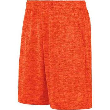 ASICS Men's Mesh 9-Inch Training Shorts - Cone Orange, Medium
