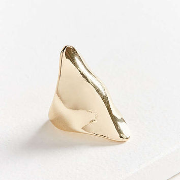 Curved Statement Ring | Urban Outfitters