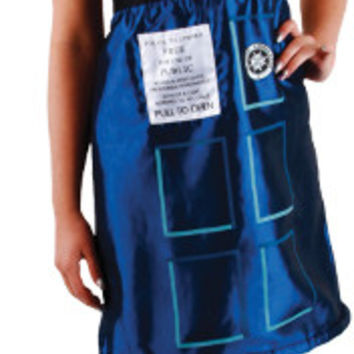 Women's Costume: Doctor Who Tardis Dress | XL