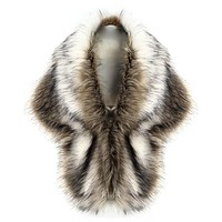 Luxury Faux Fur Scarf Awesome Deal