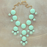 Baby Blue Tea Necklace