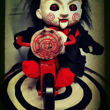 Billy the Puppet & Tricycle Saw