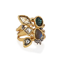 Elements Confetti Charm Cocktail Ring - Alexis Bittar