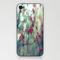 Winter Berries iPhone & iPod Skin by Ann B. | Society6