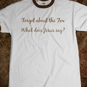 What does Jesus say?