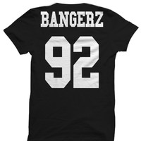 MILEY CYRUS T-SHIRT MILEY CYRUS BANGERZ TOUR JERSEY SHIRT BANGERZ TOUR TICKETS CELEBRITY SHIRTS GREAT BIRTHDAY GIFTS CHRISTMAS GIFTS