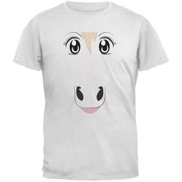 LMFCY8 Anime Horse Face Uma Natural Youth T-Shirt