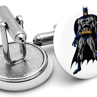 Batman Comic Pose Cufflinks